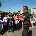 Calzada de Calatrava: Sueltan dos águilas ante 50 escolares