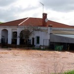 Calzada de Calatrava sufre inundaciones que no afectan al centro urbano por el momento