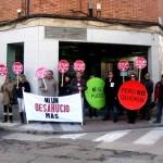 La PAH Puertollano se concentrará ante una sucursal de Bankia para reivindicar la dación de en pago de una afectada
