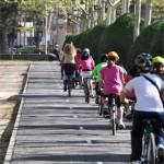 La alcaldesa de Ciudad Real inaugura el carril bici que une el Parque de Gasset con la Vía Verde