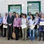 Ciudad Real: Lola Merino entrega los diplomas a los desempleados que han recibido formación sobre gestión de residuos de limpieza