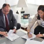 Ayuntamiento y Cámara de Comercio renuevan el convenio para la gestión de la Ventanilla Única Empresarial