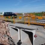 Daimiel: Abierto el tráfico en el puente del Azuer