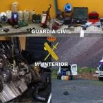 La Guardia Civil desarticula una organización criminal dedicada a robar gasoil en gasolineras y en casas de campo