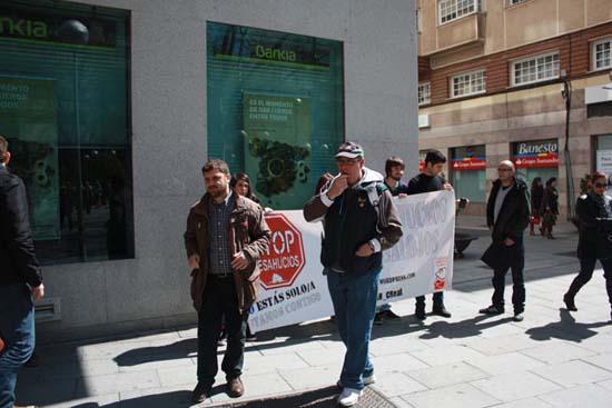 Protesta en favor de José Ramón organizada el pasado 3 de abril
