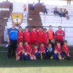 El equipo de fútbol benjamín de Malagón se proclama campeón del Torneo Guadiana