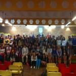 Un grupo de estudiantes irlandeses visitan el Ayuntamiento de Malagón