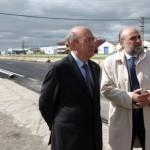 Fernando Rodrigo se interesa por el estado de las infraestructuras de Manzanares tras las lluvias de la semana pasada