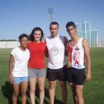 Brillante actuación de la escuela de atletismo de Manzanares en Ciudad Real