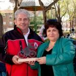 La concentración de motos clásicas de Daimiel visitó Manzanares