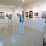 Diecinueve artistas manzanareños reúnen sus obras para celebrar el Día del Libro