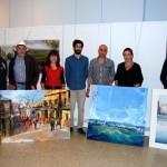 Pablo Rubén López Sanz, ganador del séptimo Certamen de Pintura Rápida de Miguelturra