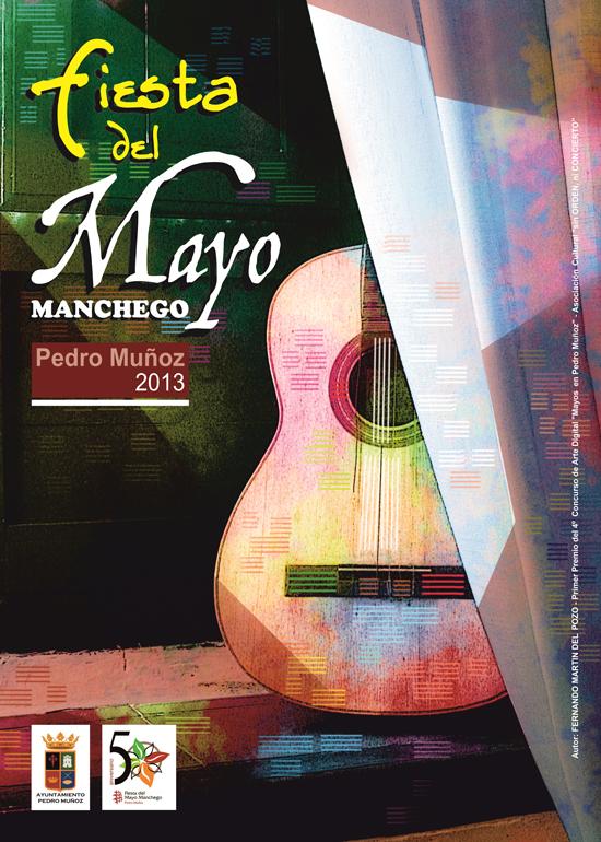 Pedro Muñoz presenta el cartel de la Fiesta del Mayo Manchego 2013