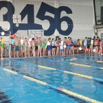 Más de medio millar de nadadores participaron en la quinta jornada de natación de Deporte Base