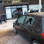 El reventón de una tubería de agua causa cuatro heridos leves en Puertollano