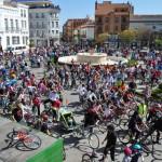 Cerca de 1.500 personas participan en el Día de la Bici de Tomelloso