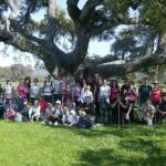 50 personas participaron ayer en una Ruta de Senderismo organizada por la Concejalía de Juventud de Tomelloso