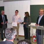 El alumno de la Escuela de Caminos Juan Carlos Cantero consigue el V Premio Trabit