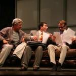 Josema Yuste, David Fernández y Felisuco se suben a las tablas del Teatro Auditorio de Valdepeñas con «La cena de los idiotas»