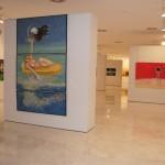 Valdepeñas: La Confianza acoge la plasticidad y colorido de las pinturas de Miguel Ángel Bernal