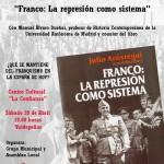 """El próximo sábado se presentará en Valdepeñas el libro """"Franco:la represión como sistema"""""""