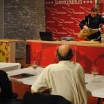 La Universidad Popular de Valdepeñas organiza unas jornadas de maridaje y conocimiento de alimentos como el vino, el jamón, el queso, el pan y el aceite