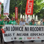 La calle tampoco logra recuperar el pulso de la huelga de educación en Ciudad Real