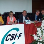 Una vocal del Poder Judicial, la presidenta de la Audiencia, el fiscal jefe y el decano del Colegio de Abogados protagonizan la jornada de mediación y arbitraje de CSI·F