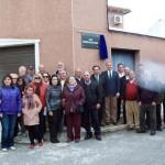 Pedro Barato inaugura la nueva calle Romería de san Isidro en Villamayor de Calatrava