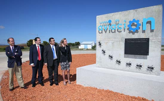 Casero inaugura el polígono industrial2