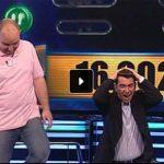 Un concursante de Puertollano se lleva 100.000 euros en el concurso de la tele «Ahora caigo»