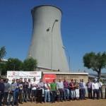 Puertollano: Piden que no se derribe la torre de refrigeración de la Sevillana