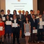 Un manzanareño, entre los 15 estudiantes galardonados hoy en los Premios Nacionales de Bachillerato