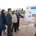 """Marta García visita las obras de la CM-420 en Alcázar de San Juan valorando la inversión pública como """"estímulo del crecimiento"""""""