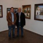 La Casa de Cultura de Alcázar expone una colección de paisajes manchegos de Jesús Fernández Serrano