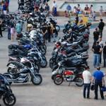 Alcázar reúne a más de 300 moteros para recaudar fondos a favor de la Asociación Española Contra el Cáncer