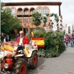 Argamasilla de Calatrava celebra su romería anual en honor a su patrón, san Isidro Labrador, con un gran ambiente festivo pese al mal tiempo