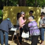 Diver-Gente sale de nuevo a la calle para «salvar» los jardines del Prado: ya han recogido más de 1.000 firmas de apoyo