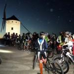 La II Ruta Cicloturista Noctura a beneficio de la Asociación MPS Castilla-La Mancha contó con cerca de doscientos participantes