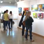 El Taller de Pintura expone sus obras en la Casa de Cultura de Daimiel