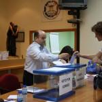Elevada participación en las elecciones a la presidencia del Colegio de Enfermería