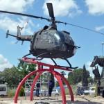Colectivos antimilitaristas pedirán la retirada del helicóptero de combate a través de una moción