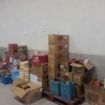 La recogida de alimentos de la Feria del Estocaje y la iniciativa del IES de Herencia ayudará a 160 familias