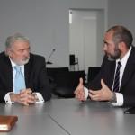 Importante reunión del alcalde de Herencia en Madrid con el Embajador de Colombia en España