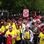 Primero de Mayo en Puertollano: Protesta contra la ruptura social en la zona cero de la depresión