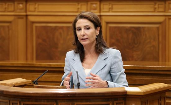 Marta García, consejera de Fomento