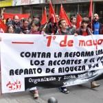 La CNT capitaliza el Primero de Mayo en Ciudad Real