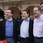 García-Page juega a la ambigüedad delante de sus compañeros de partido: «A algunas primarias me presentaré, pero ya veremos a cuáles»