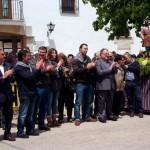 Los tomelloseros acompañaron a la Hermandad de San Isidro durante las celebraciones del Patrón