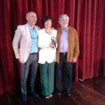 El torralbeño Antonio Serrano recogió hoy el Premio Max de la Crítica otorgado a las XXX Jornadas de Teatro del Siglo de Oro de Almería